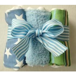Stars & Stripes Burp Cloth Set