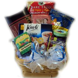 Heart Healthy Hanukkah Gift Basket
