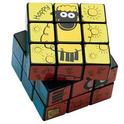 'Wacky Woolies' Rubik's Cube