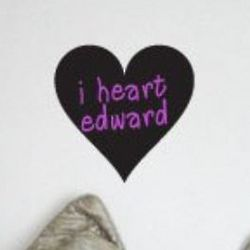 Heart Chalkboard Vinyl Wall Sticker