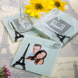 From Paris with Love Coaster Set