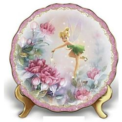 Tinker Bell the Finishing Touch Porcelain Plate