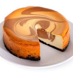 6 Inch Chocolate Swirl Cheesecake