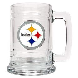 Pittsburgh Steelers Personalized NFL Medallion Mug