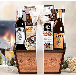 Coppola Diamond Wine Duet Gift Basket