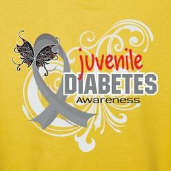 Personalized Juvenile Diabetes Awareness T-Shirt