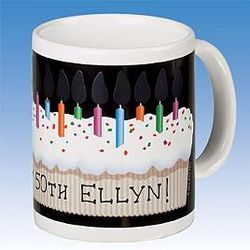 Light-Up Birthday Candles Mug