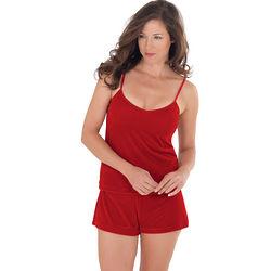 Ruby Velour Pajama Short Set