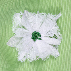 Irish Baby Shower Corsage