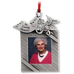 """""""In Loving Memory"""" Photo Ornament"""