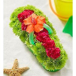 Fresh Flower Flip Flop