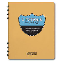 Citations for Real Life Book