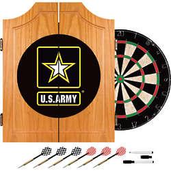 US Army Logo Dart Cabinet
