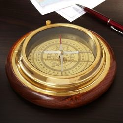 Northern Star Brass Desk Compass