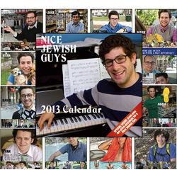 Nice Jewish Guys 2013 Calendar