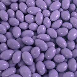 Pastel Purple Choco Almond Candies