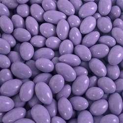 Pastel Purple Choco Almond Candies