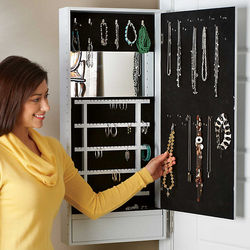 Cabidor Door Attachment Jewelry Armoire