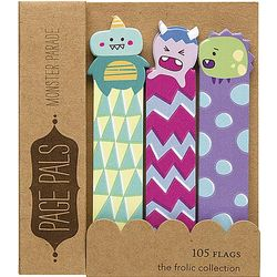 Monster Parade Page Pals Adhesive Flags