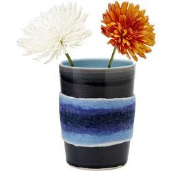 Feltware Porcelain Vase