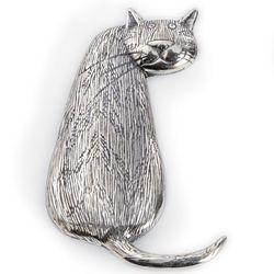 Edward Gorey Tabby Cat Pin