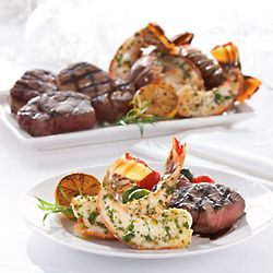 Steak and Lobster Feast Gourmet Entrée for Four