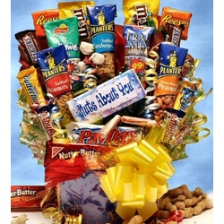 Nuts About You Candy Bouquet