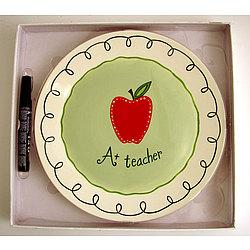 A+ Teacher Plate