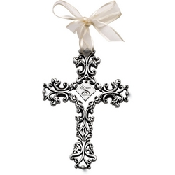 60th Anniversary Filigree Wall Cross