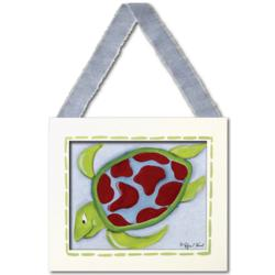 Sea Turtle Framed Hanging Canvas Wall Art