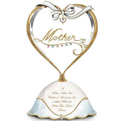 Mother's Heart Personalized Birthstone Music Box