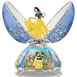 Snow White Egg-Shaped Music Box