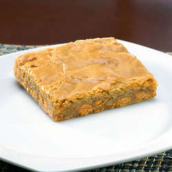 12 Butterscotch Blonde Brownies