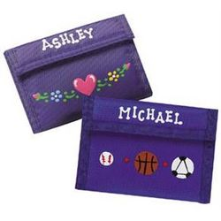 Personalized Preteen Wallet
