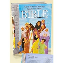 Illustrated 365 Day Catholic Children's Bible