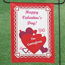 Personalized Valentine's Day Mini Banner