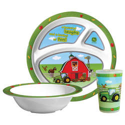 John Deere 3-Piece Children's Table Set