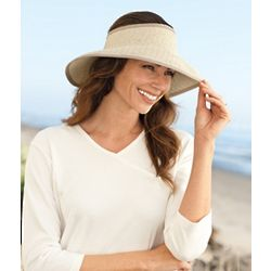 Women's Roll-Up Visor Hat
