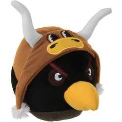 Texas Longhorns Black Angry Bird Plush