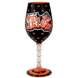 Trick or Treat Too Wine Glass