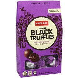 Organic Dark Chocolate Black Truffles