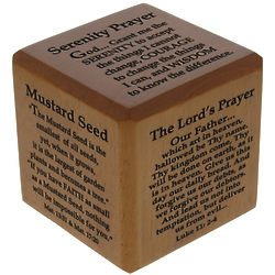 Popular Prayers Scripture Cube