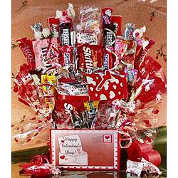 Love Letters Valentine Candy Bouquet