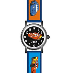 Cars Lightning McQueen Personalized Kid's Watch