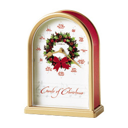 Carols of Christmas II Tabletop Clock