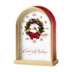 Carols of Christmas II Tabletop Clock