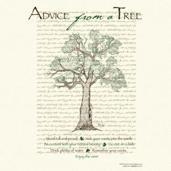 Advice From a Tree T-Shirt
