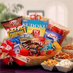 Get Well Snacker Gift Basket