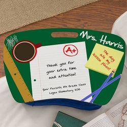 Personalized Lap Desk for Teachers