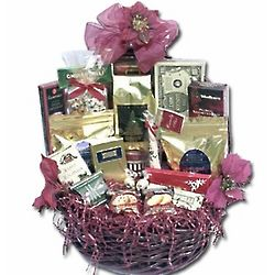 Large Gourmet Christmas Gift Basket